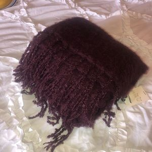Aerie Maroon super soft scarf